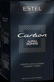 AHC/SНабор ESTEL ALPHA HOMME CARBON (Шампунь для волос, Массаж-гель)