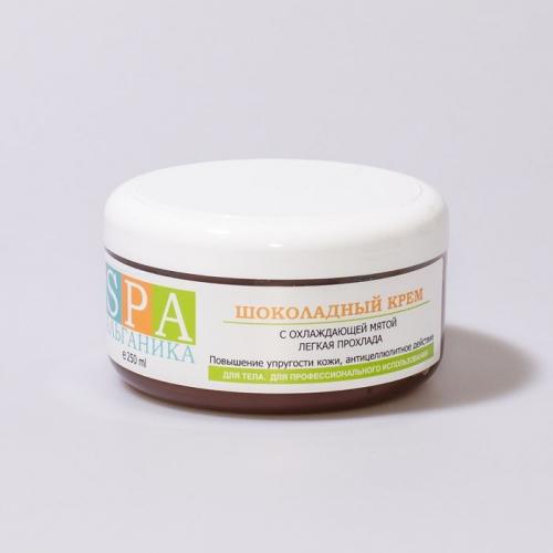 Шоколадный крем для тела с охлаждающей мятой
