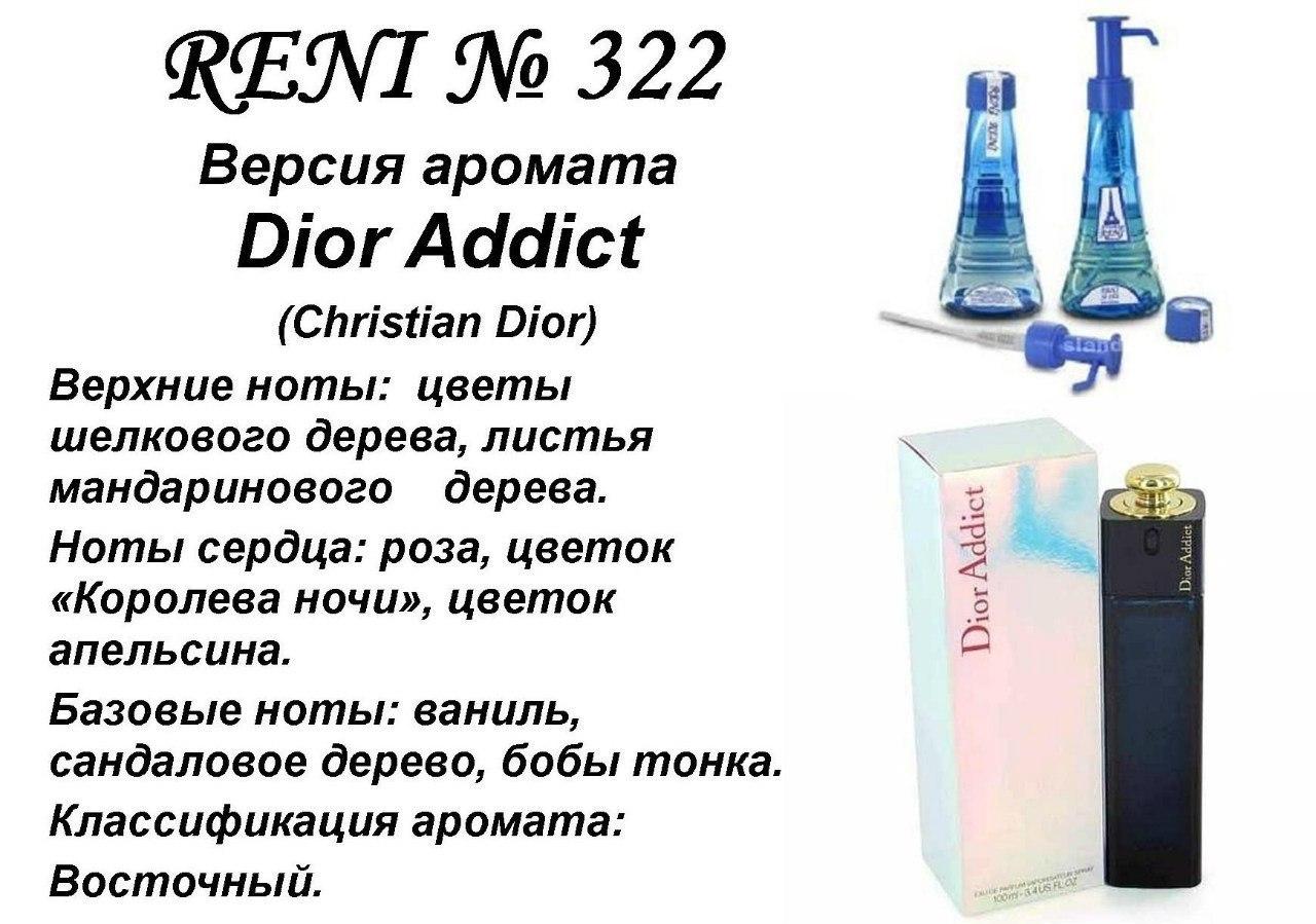 Рени наливная парфюмерия каталог с фото оригинала