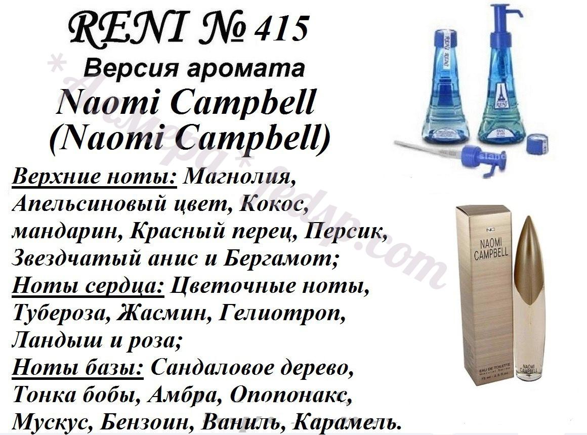 Рени парфюм каталог ароматов в картинках женские