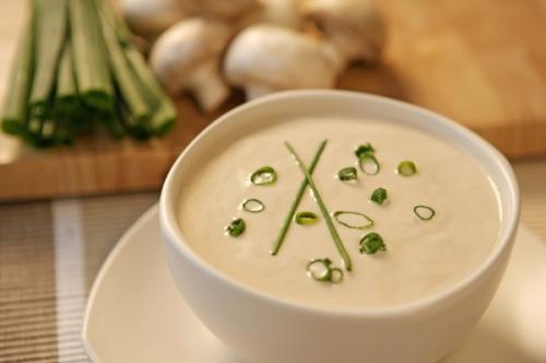 Суп-пюре грибной из шампиньонов