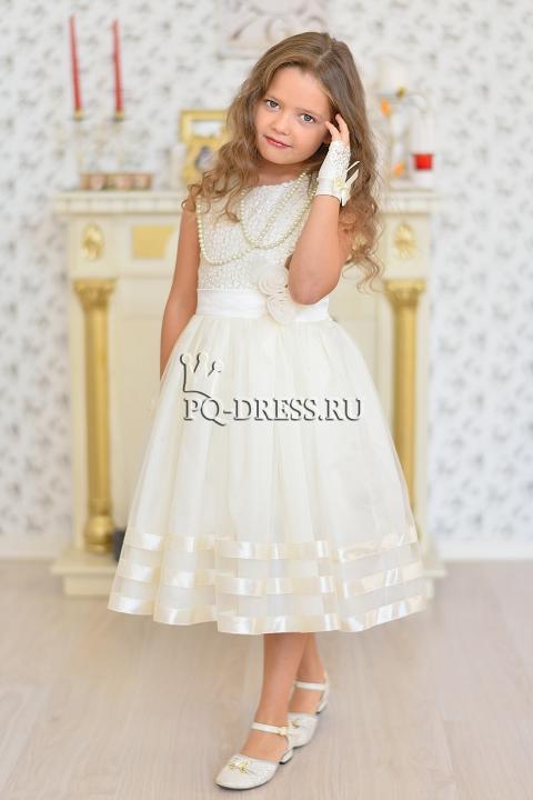0bf8ee76e214fb0 Платье нарядное для девочки