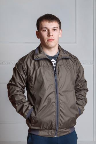 Арт. KM. Мужская куртка-ветровка, цвет-хаки