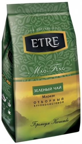 ТВ883 Чай Etre Mao Feng чай зеленый крупнолистовой, 200 г.