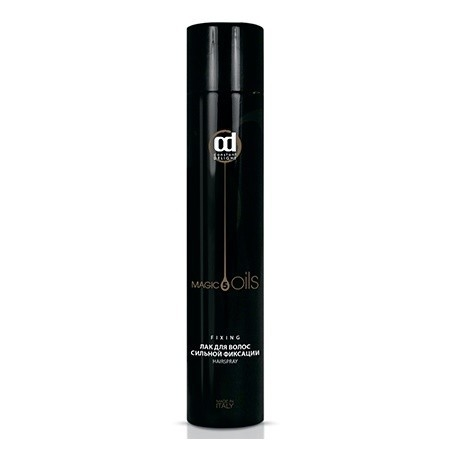 CD Лак для волос сильной фиксации 5 Масел 490 мл