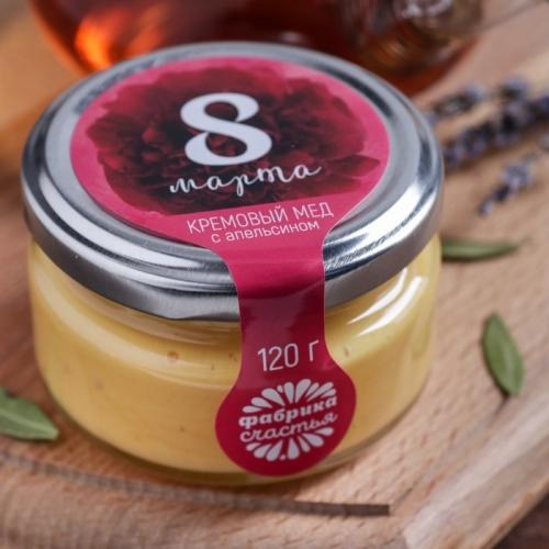 Кремовый мед с апельсином