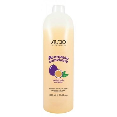 Kapous AS Шампунь для всех типов волос «Маракуйя» Studio, 1000мл
