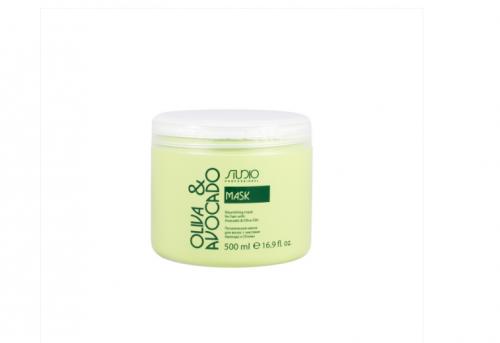 Kapous ST Маска питательная для волос с маслами авокадо и оливы Studio 500мл