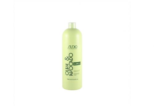 Kapous ST Шампунь увлажняющий для волос с маслами авокадо и оливы Studio 1000мл