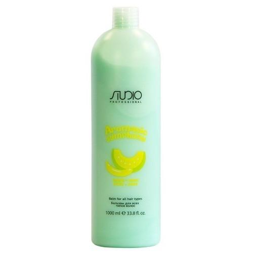 Kapous AS Бальзам для всех типов волос «Банан и дыня» Studio 1000мл