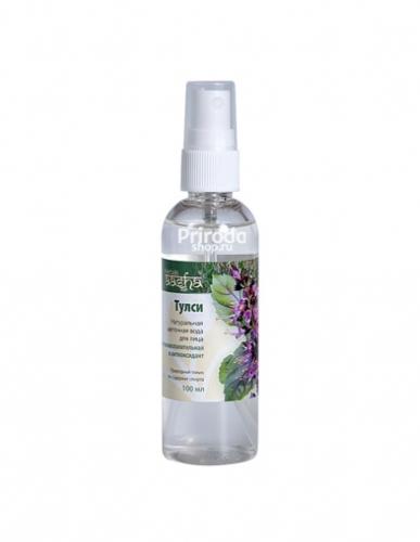 Натуральная цветочная вода для лица Тулси Ааша,100 мл