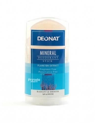 Минеральный дезодорант стик ДеоНат с экстрактом планктона, 100 г