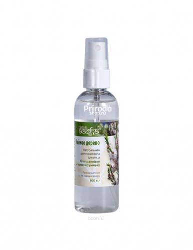Натуральная цветочная вода для лица Чайное дерево Ааша, 100 мл
