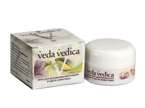 Крем для выравнивания рельефа и цвета кожи лица Веда Ведика, 50 г