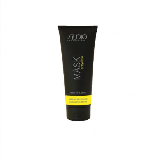 Kapous AY Маска для волос Анти-желтая «Antiyellow», 200 мл