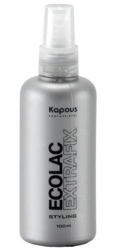 Kapous STY Эколак (жидкий лак) сильной фиксации 100мл