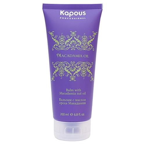 Kapous МАК Маска для волос с маслом ореха макадамии 150мл