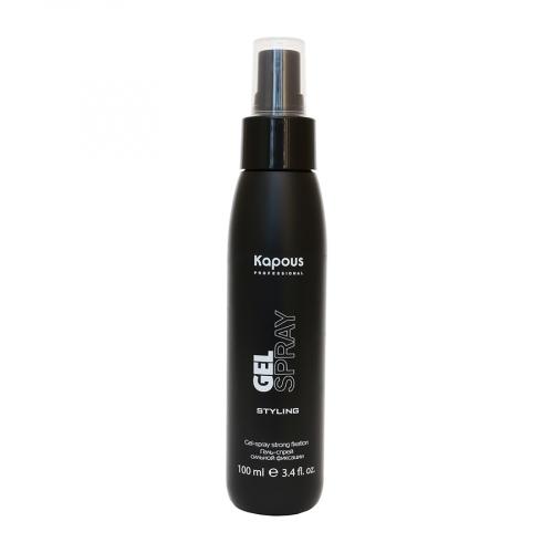 Kapous STY Гель-спрей для волос сильной фиксации «Gel-spray Strong» 100мл
