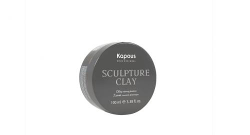 Kapous STY Глина для укладки волос нормальной фиксации 100мл