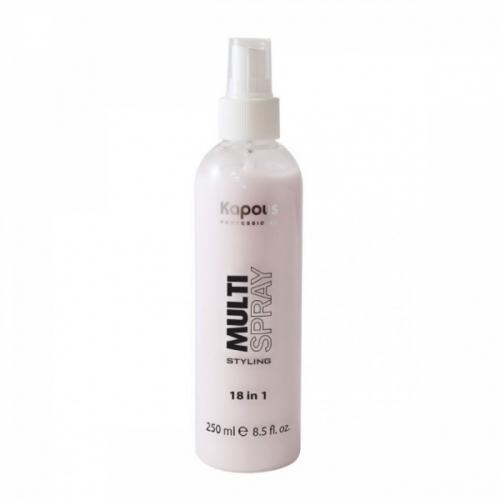 Kapous Мультиспрей для укладки волос 18 в 1 Multi Spray 250мл