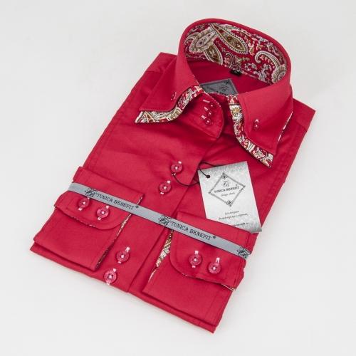 Женская блузка 304-68-w23f-sred