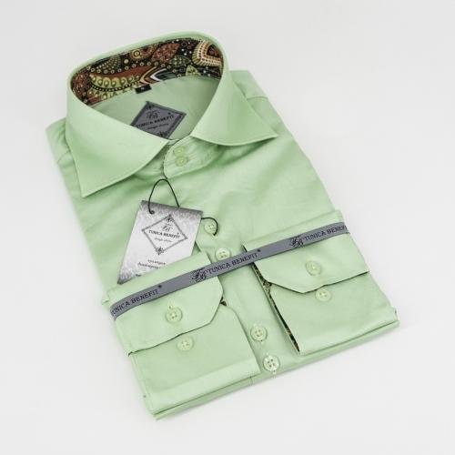 Мужская рубашка 226-20-m12f-slgre