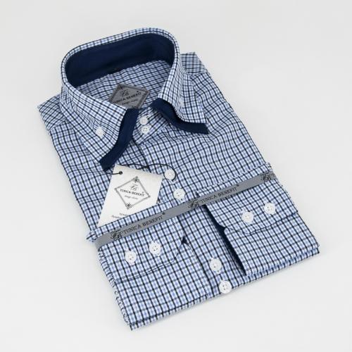 Мужская рубашка 223-15-m22s-plbudbu