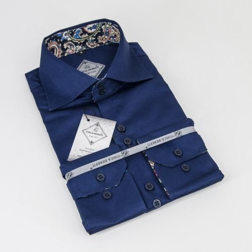 Мужская рубашка 226-18-m12f-sdbu