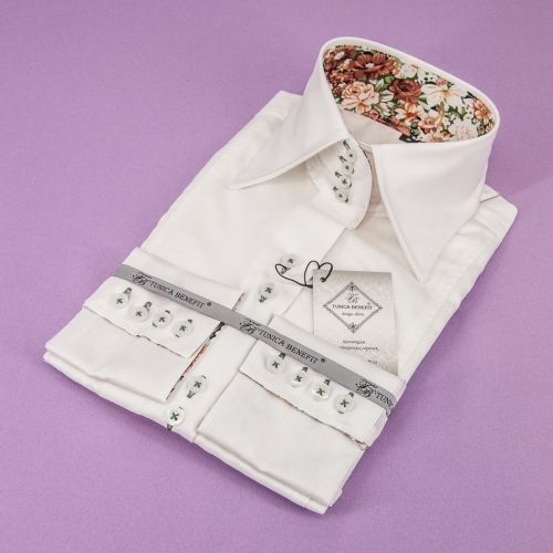 Женская блузка 316-15-w14f-sivy