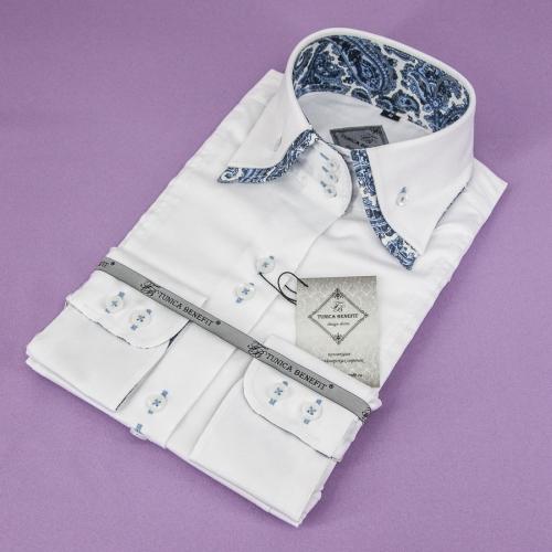 Женская блузка 304-59-w23f-swht