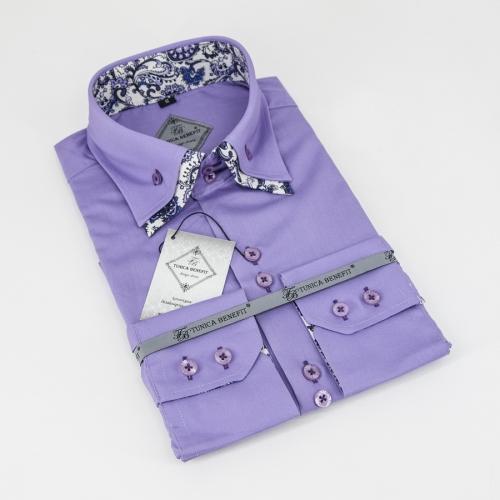 Мужская рубашка 238-3-m22f-ppur