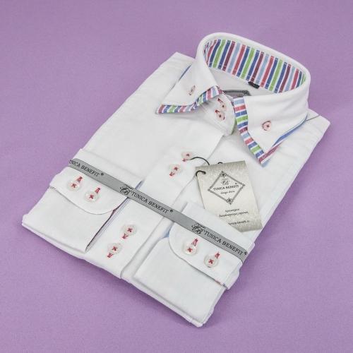 Женская блузка 317-10-w22st-owht