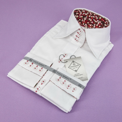 Женская блузка 316-13-w14f-swhtr