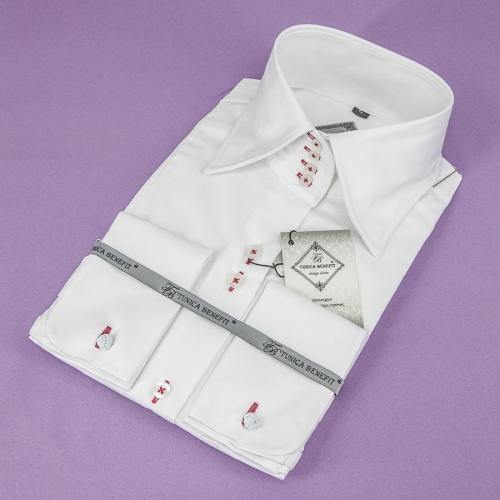Женская блузка 300-1-wz14n-swhtr