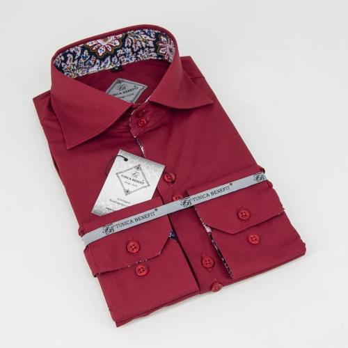 Мужская рубашка 226-15-m12f-sbrd