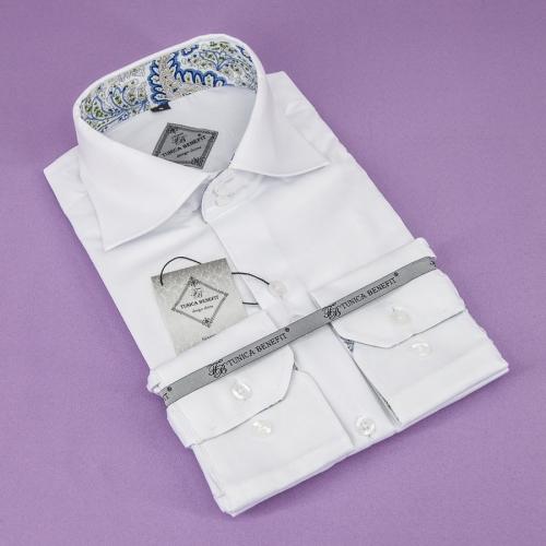 Мужская рубашка 226-14-m12f-swht