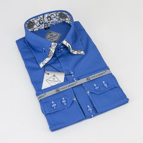 Мужская рубашка 238-4-m22f-ptrq4