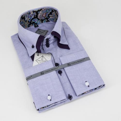 Мужская рубашка 227-9-mz24sf-olpur