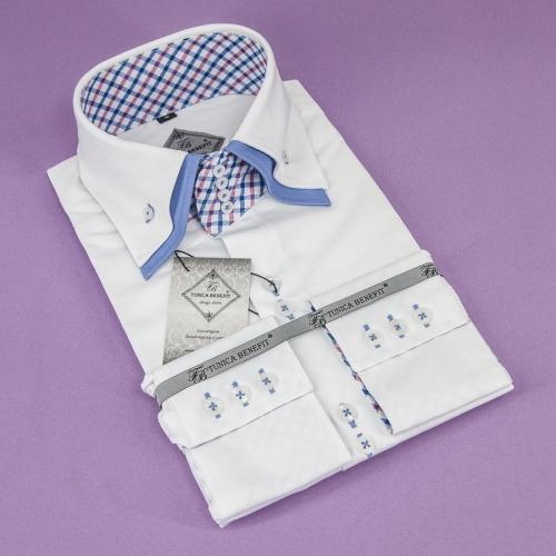 Мужская рубашка 228-8-m24sc-pwht