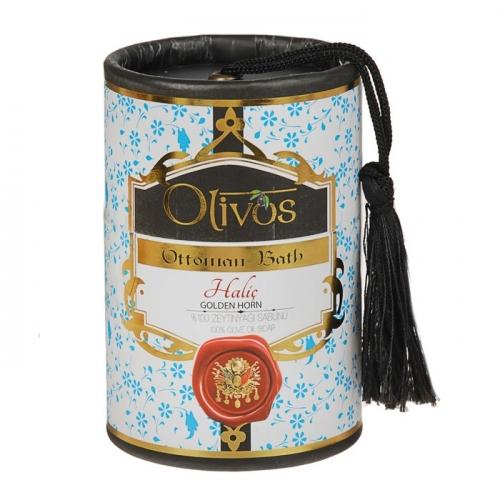 Мыло для лица, тела и волос Olivos Ottoman Bath Golden Horn, 2х100 г