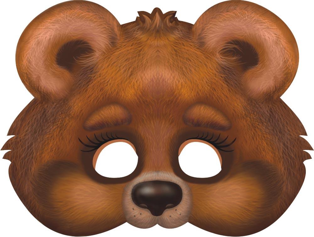 статьи картинка маски медведя большая состав