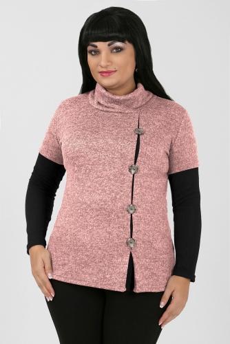 2В МЕРИНДА Блуза розовый