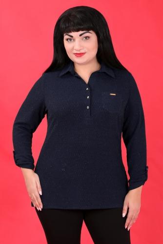 2Г 3391 Рубашка синий