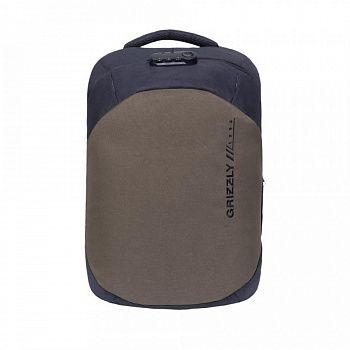 RQ-920-2 Рюкзак /2 черный - хаки