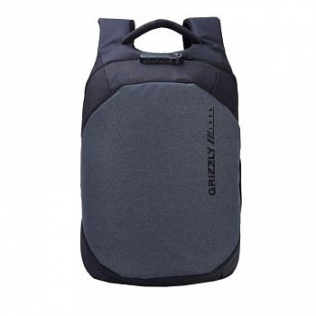 RQ-920-2 Рюкзак /1 черный - серый