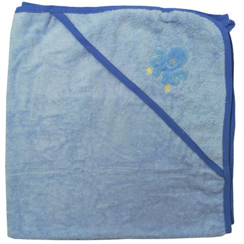 Набор для купания 3 предмета с вышивкой Голубой 3111