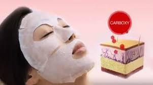 Тканевая маска для карбокситерапии НЕ ВЫРЕЗАННАЯ!!!