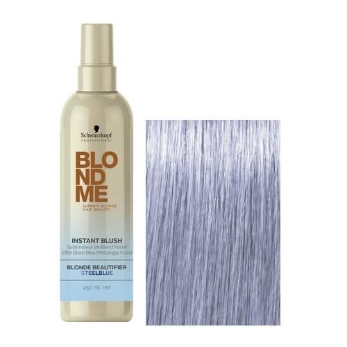 БлондМи Оттеночный спрей для волос Сталь 250 мл