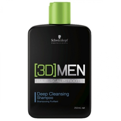 [3D]MEN Шампунь для глубокого очищения