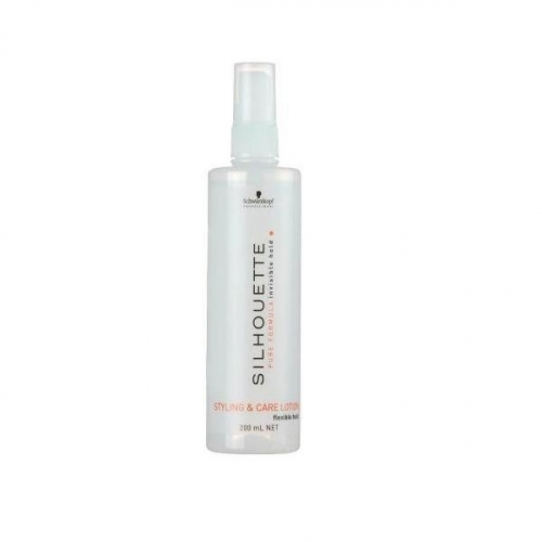 Schwarzkopf Спрей объем и уход для волос мягкой фиксации Silhouette 200мл